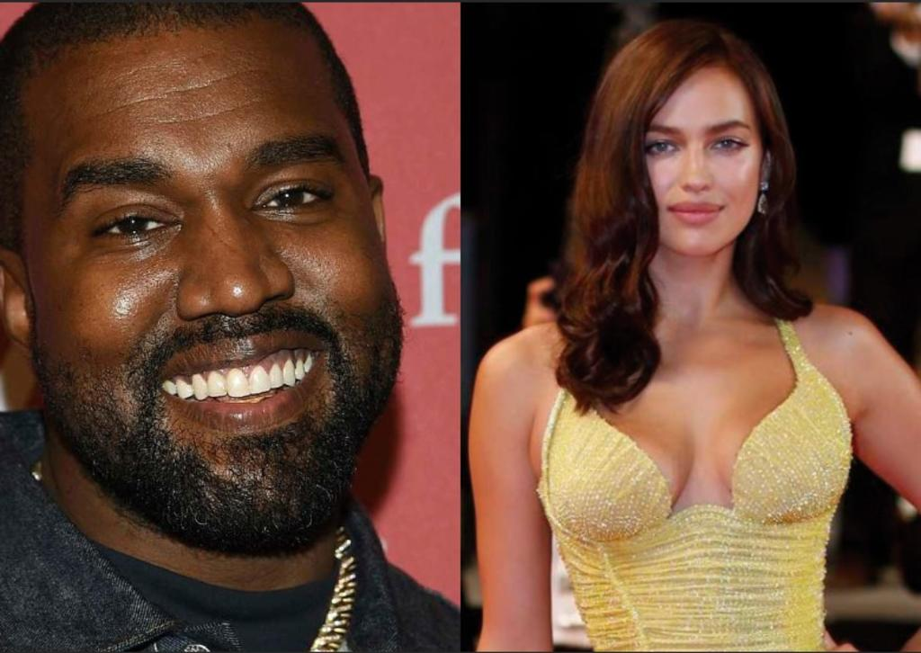 Kanye West estaría estrenando romance con Irina Shayk