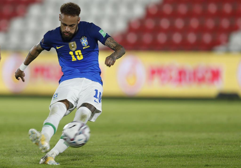 Neymar encabeza plantel de Brasil para la Copa América