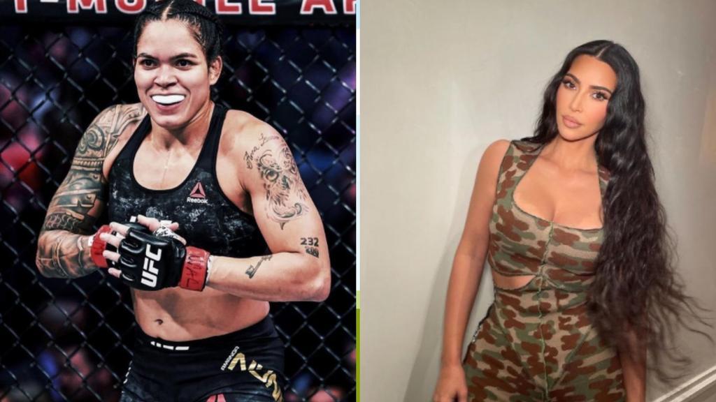 Amanda Nunes reta a Kim Kardashian a combate de la UFC