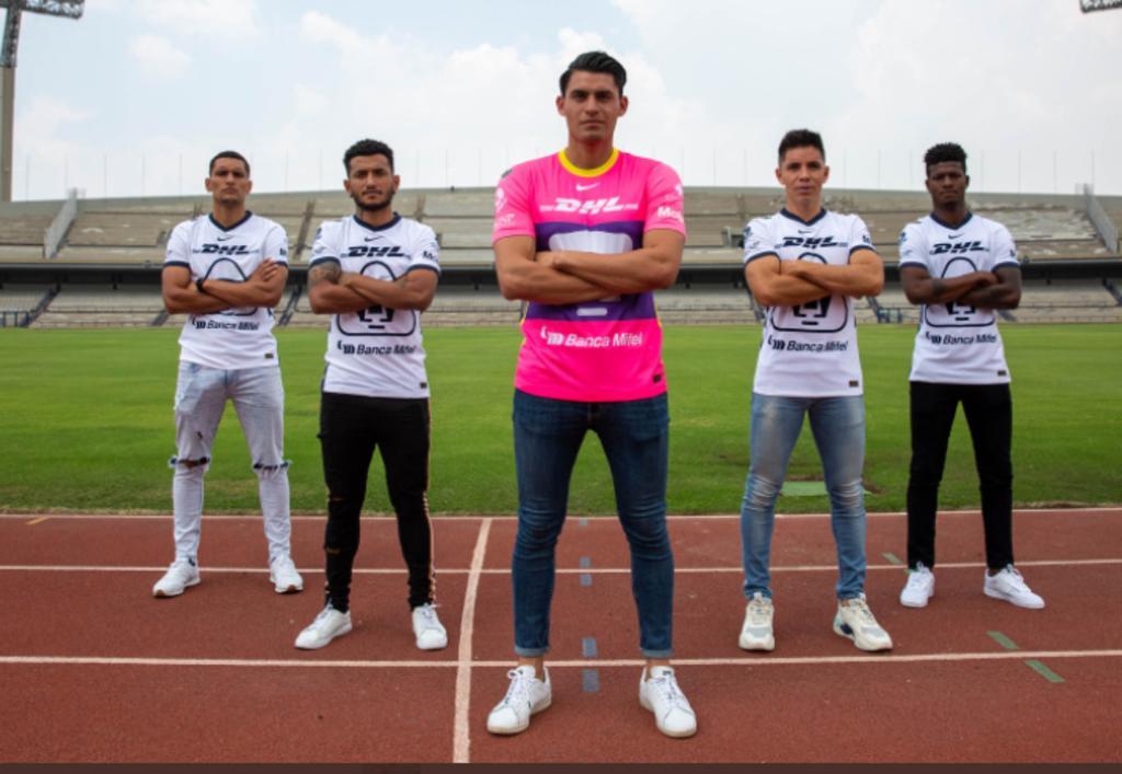 Pumas no se deja intimidar y presenta cinco refuerzos para el Apertura 2021