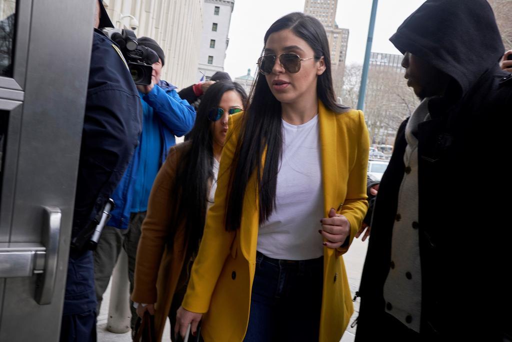 Departamento de Justicia de EUA desclasifica cargos contra Emma Coronel
