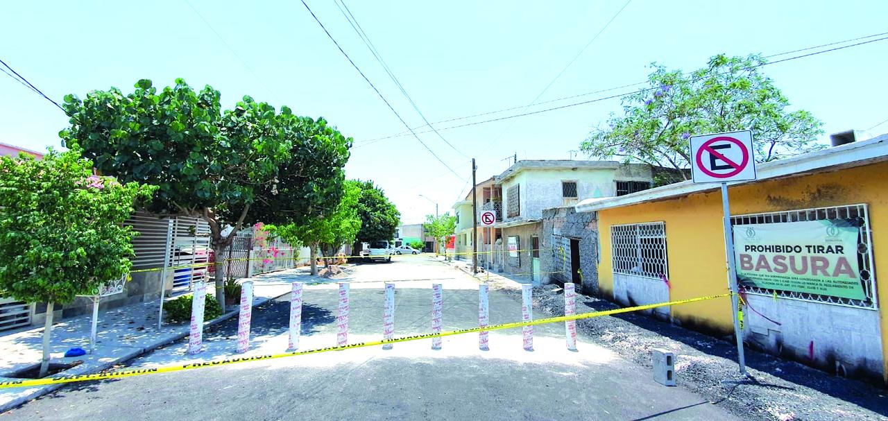 Atienden hundimiento en colonia de Gómez Palacio