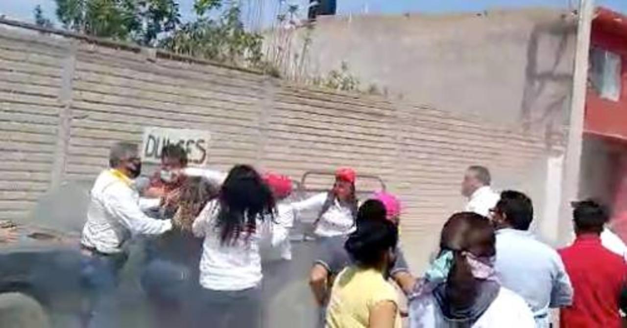 Ya salió del hospital el trabajador de DIF estatal que fue agredido