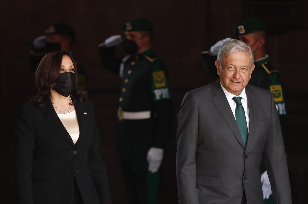 Kamala Harris pide a México y Guatemala que dejen 'trabajar' a las ONG y la prensa