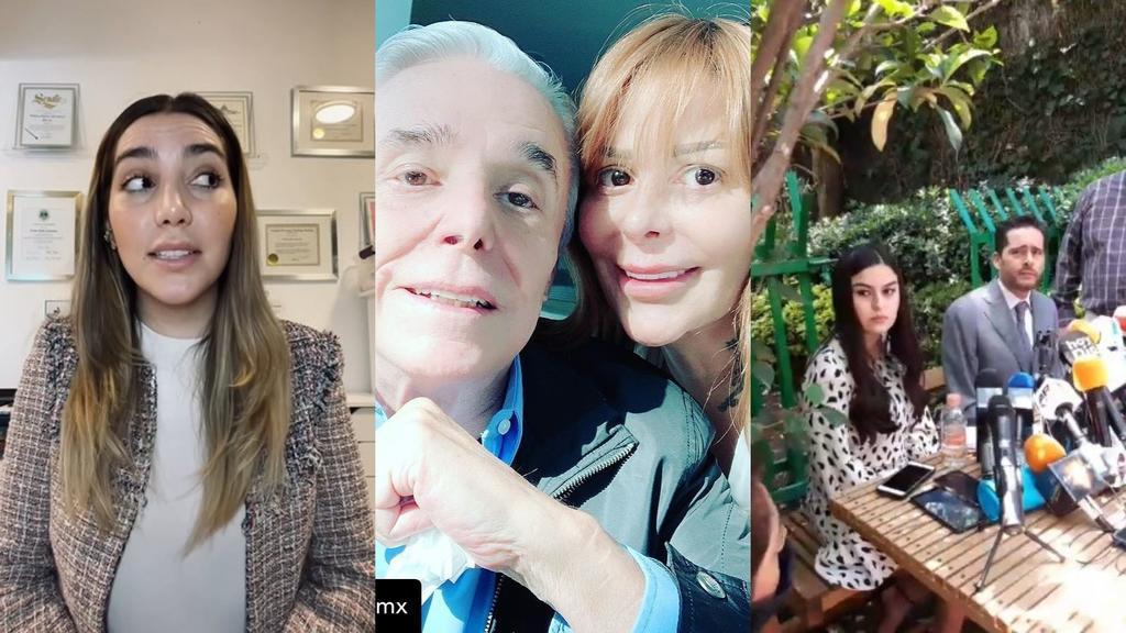 Enrique y Alejandra Guzmán serán señalador por tres delitos: abogados de Frida Sofía