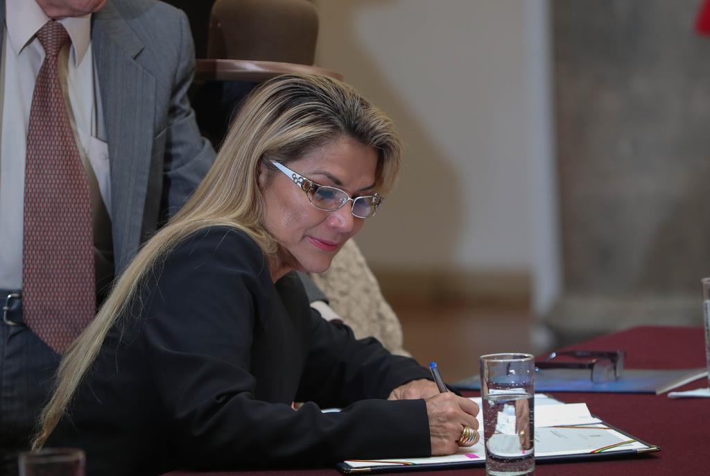 Jeanine Áñez dice que es 'prisionera política' en Bolivia tras 87 días de arresto