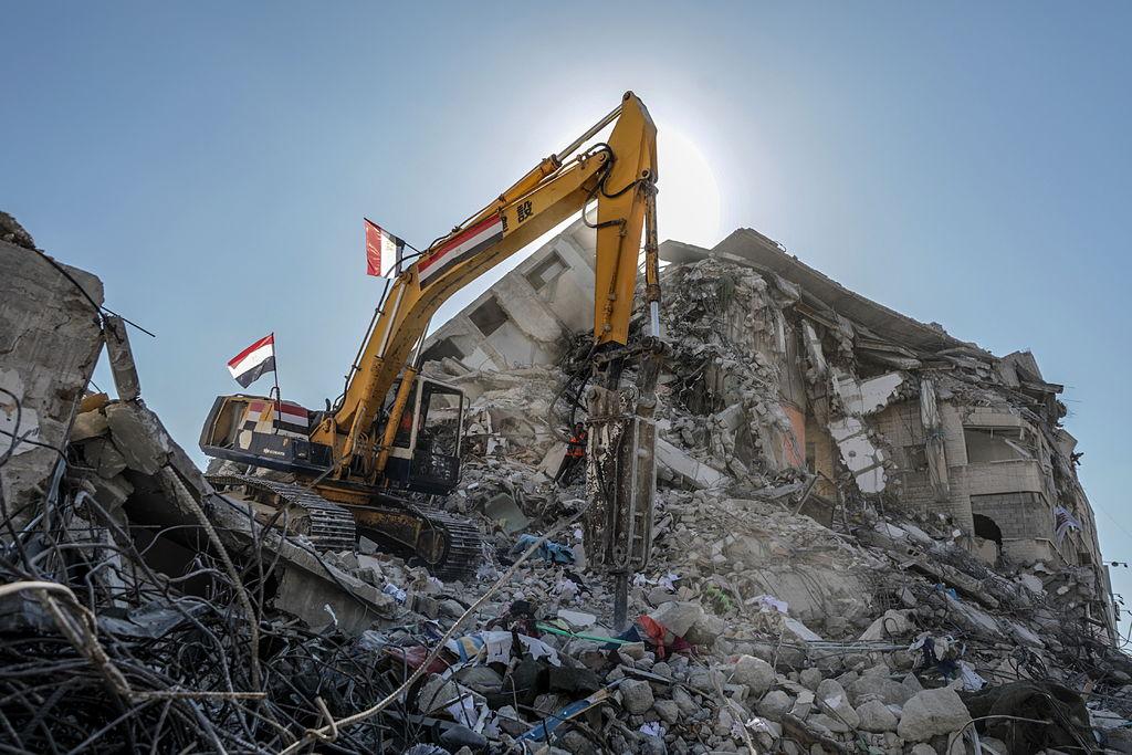 Negocian reconstrucción de Gaza