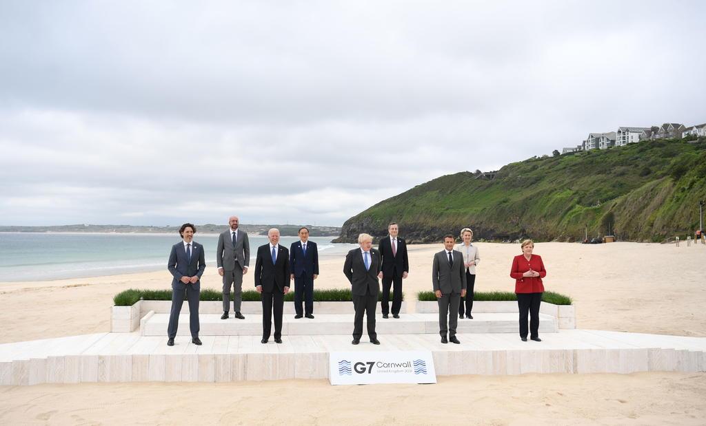 Comienza el G7, primera gran cumbre internacional desde la pandemia