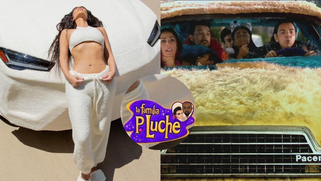 Tapiz en Lamborghini de Kim Kardashian desata reacciones en redes