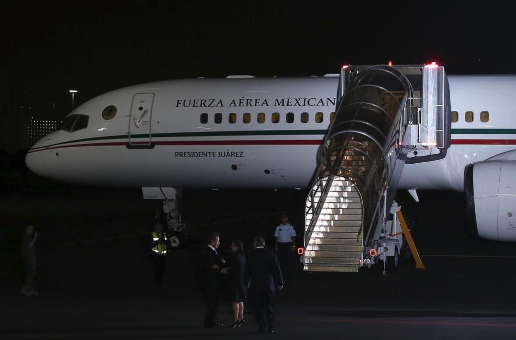 Malbarata Gobierno de México el avión 'Presidente Benito Juárez'