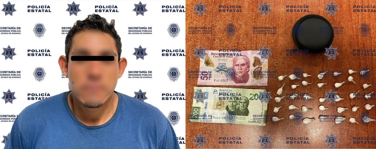 Sacan de 'circulación' a 'puchador' de Santiago Papasquiaro