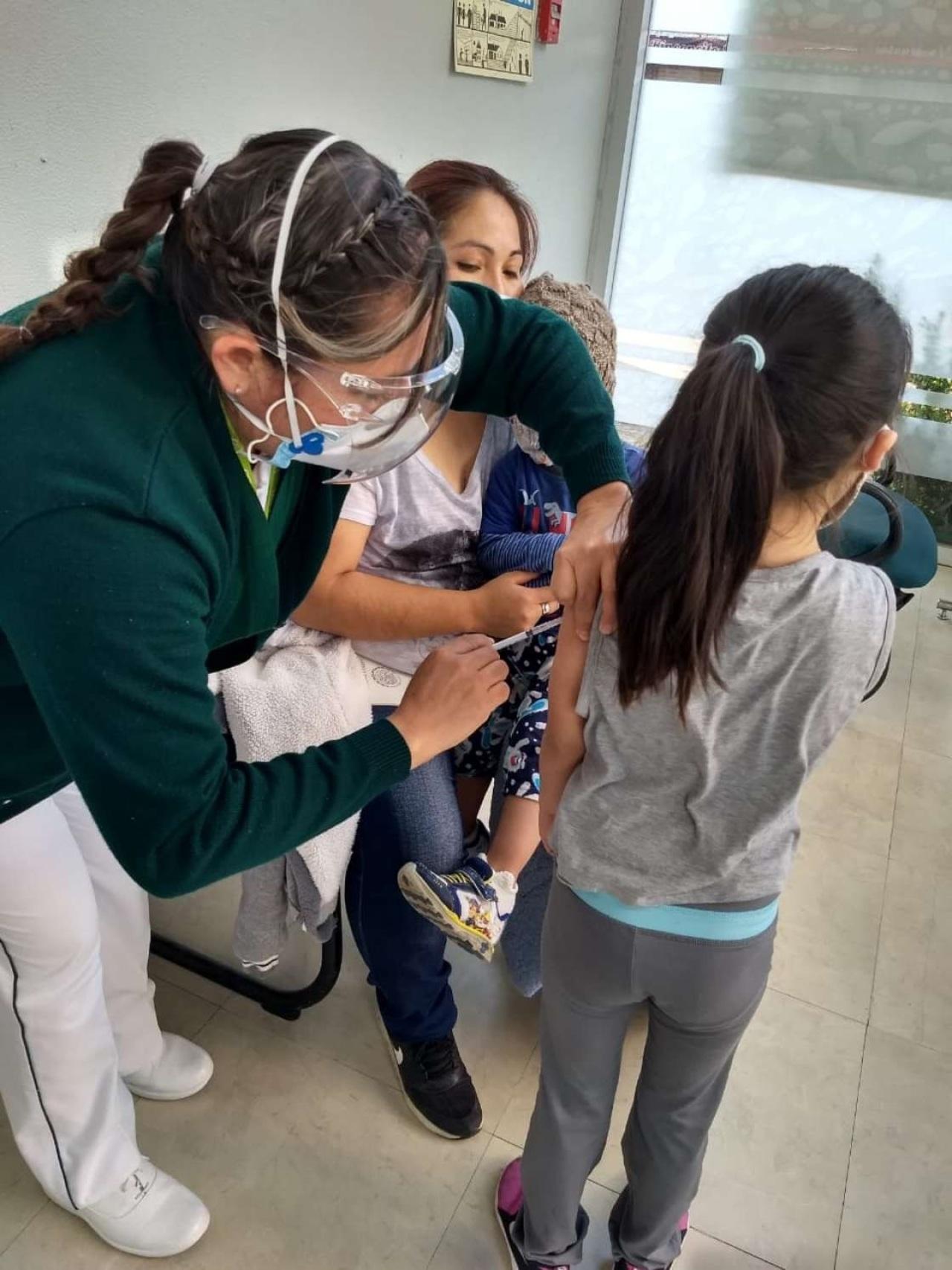 Renuencia para completar cuadro de vacunación en niños