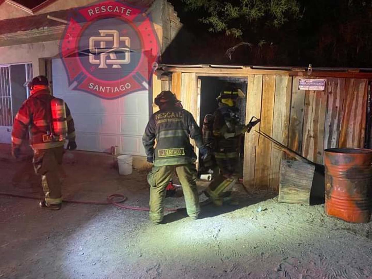 Otro incendio de casa habitación en Santiago Papasquiaro