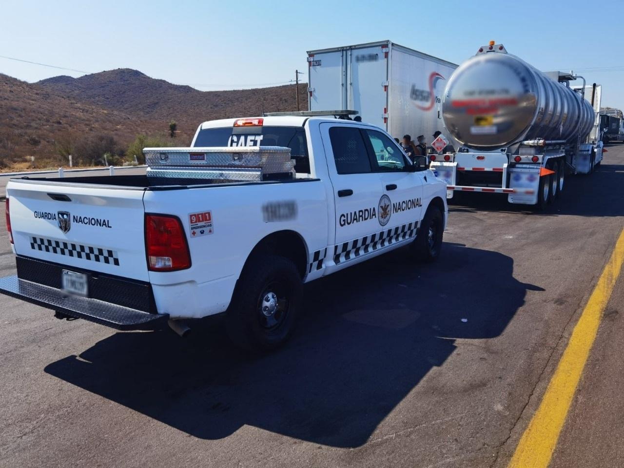 Aseguran más de 45 mil litros de combustible