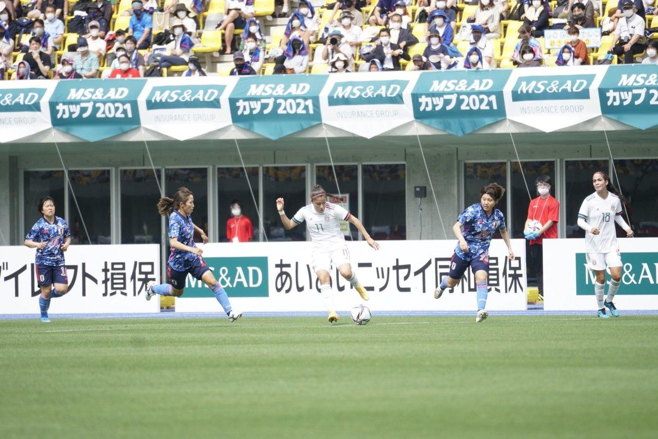 Japón golea a la Selección femenil