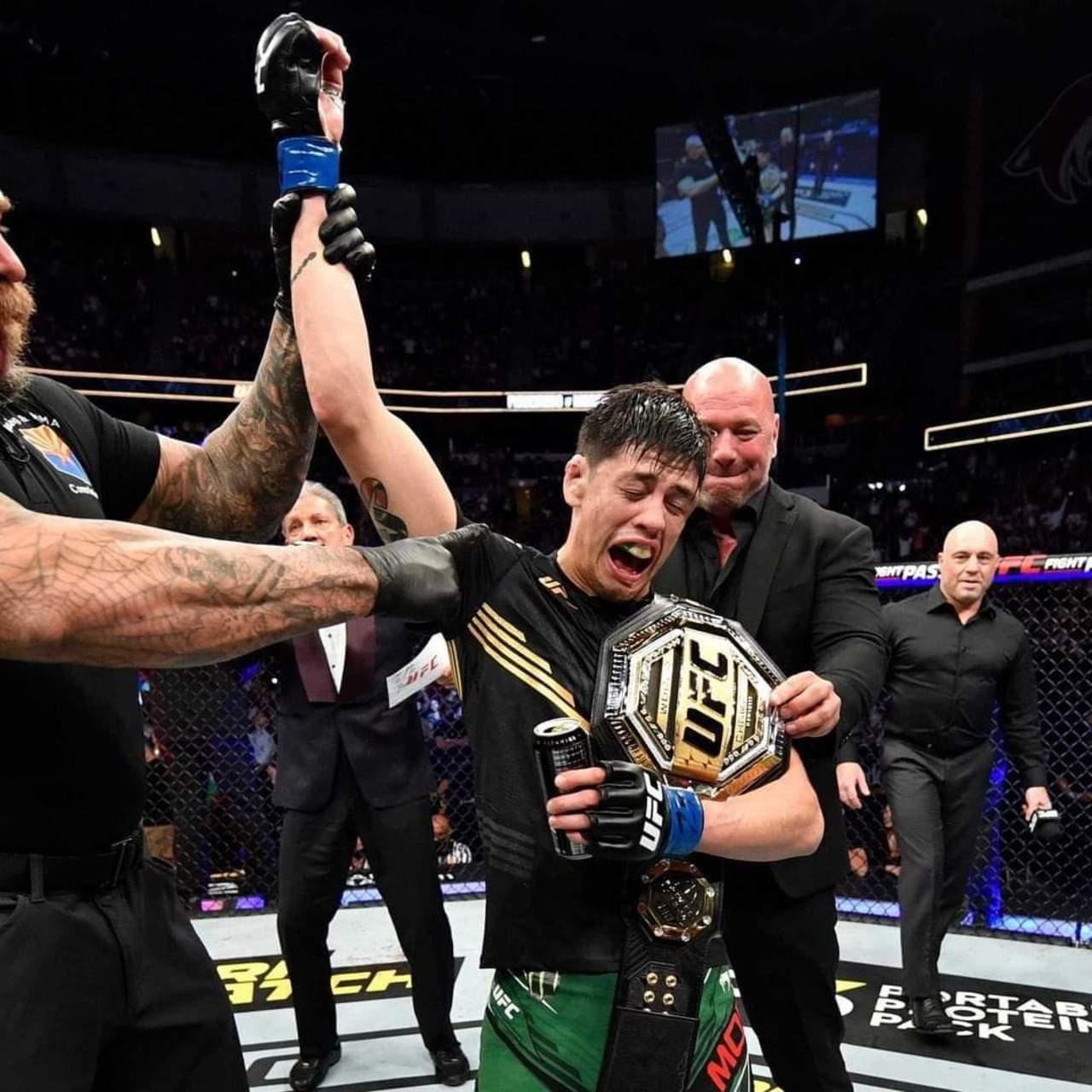 Mexicano, campeón de la UFC