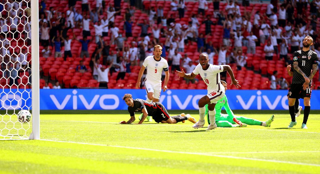 Sterling sella la victoria 1-0 de Inglaterra ante Croacia