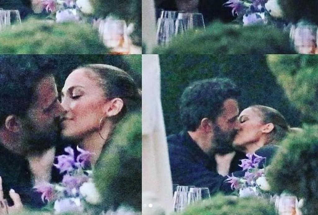 Jennifer Lopez y Ben Affleck confirmar relación con apasionado beso