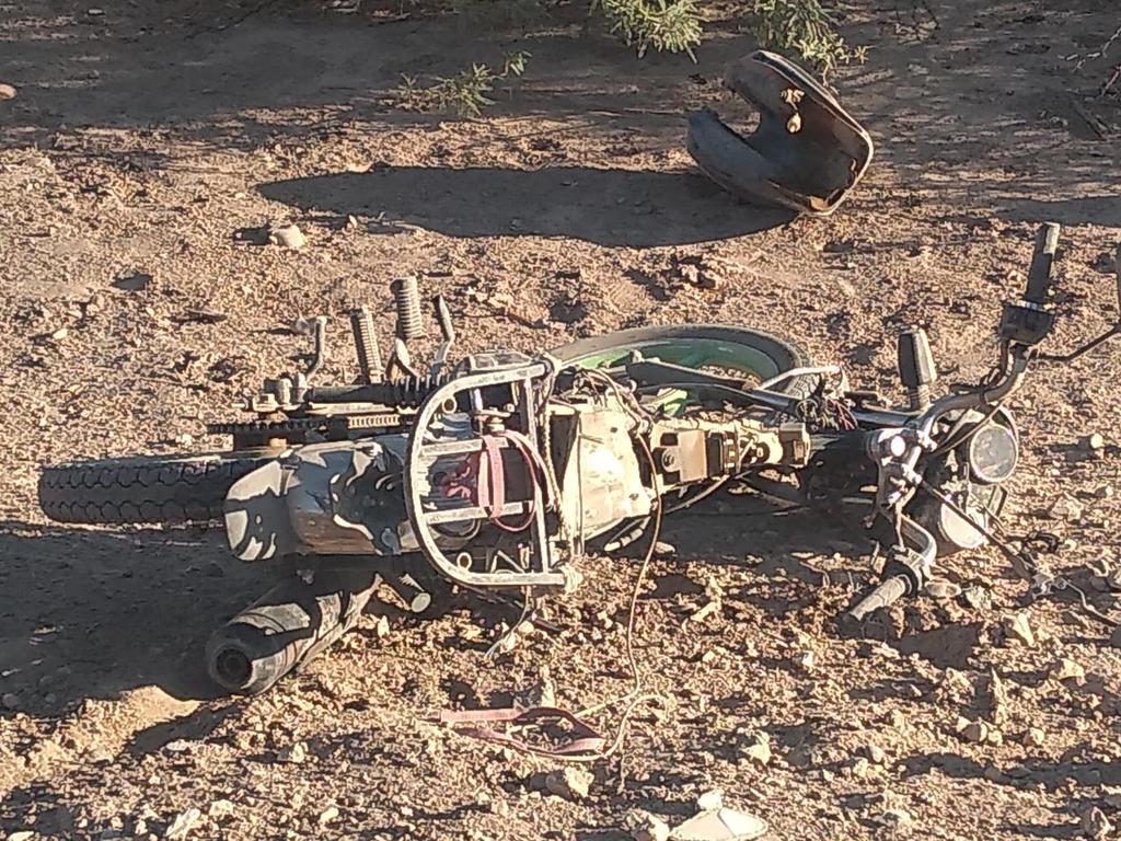 Muere sexagenario tras accidente de motocicleta en Matamoros