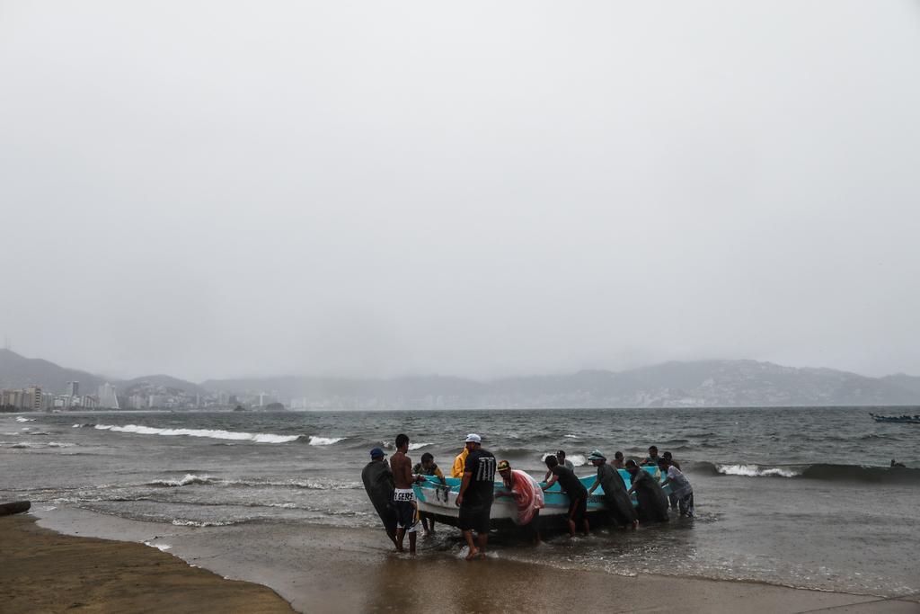 Tormenta 'Dolores' se forma en costas del Pacífico mexicano