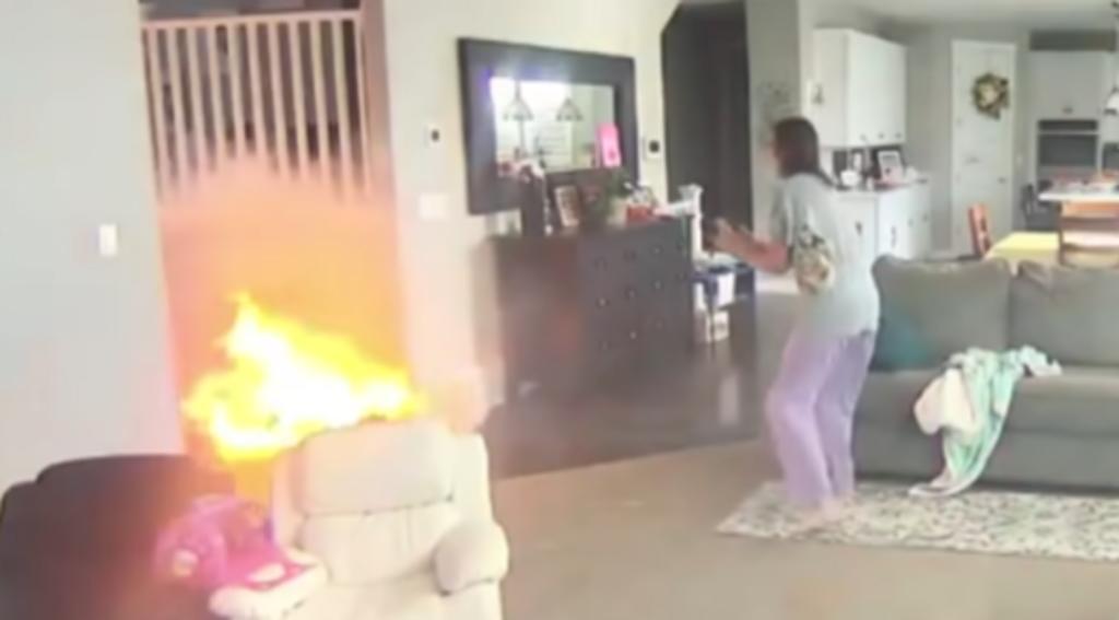 'Hoverboard' se incendia y explota dentro de un hogar cerca de dos niños