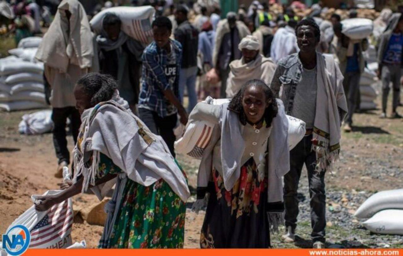 Decenas de civiles muertos en ataque aéreo