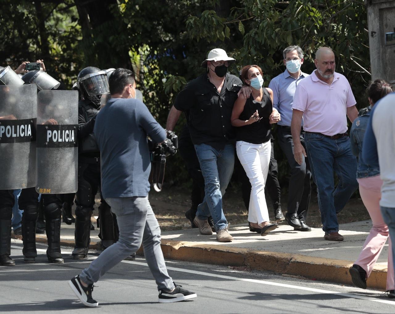 Exigen liberar a 'presos políticos' en Nicaragua