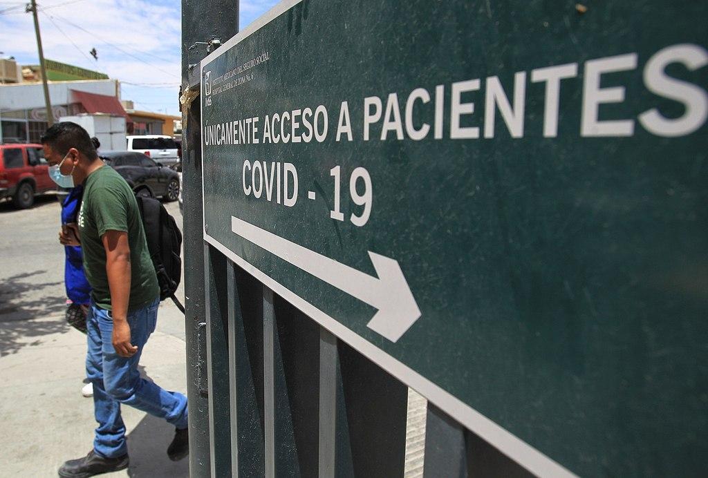 México suma 342 muertes nuevas por COVID