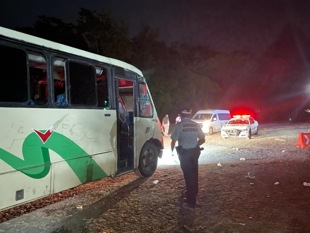Guardia Nacional asegura a migrantes en Chiapas