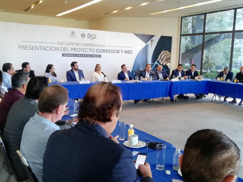 Gobierno de Durango presenta corredor T-MEC; participarán Coahuila y Sinaloa