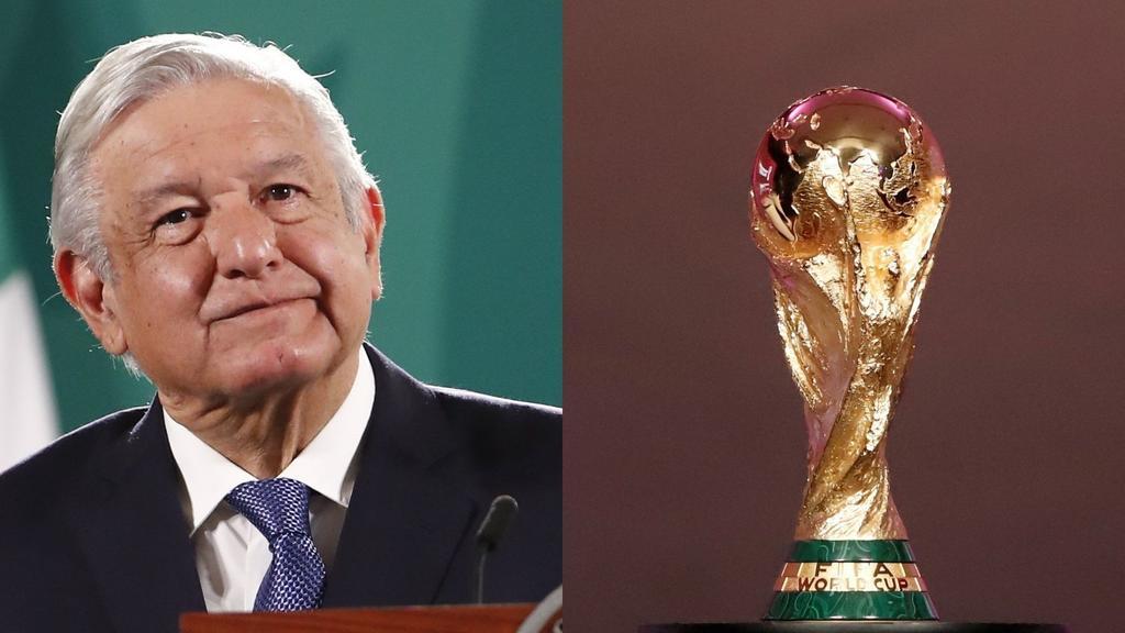 Reacciona AMLO a supuesta presión de la FIFA hacia la Federación Mexicana para reducir impuestos en Mundial 2026
