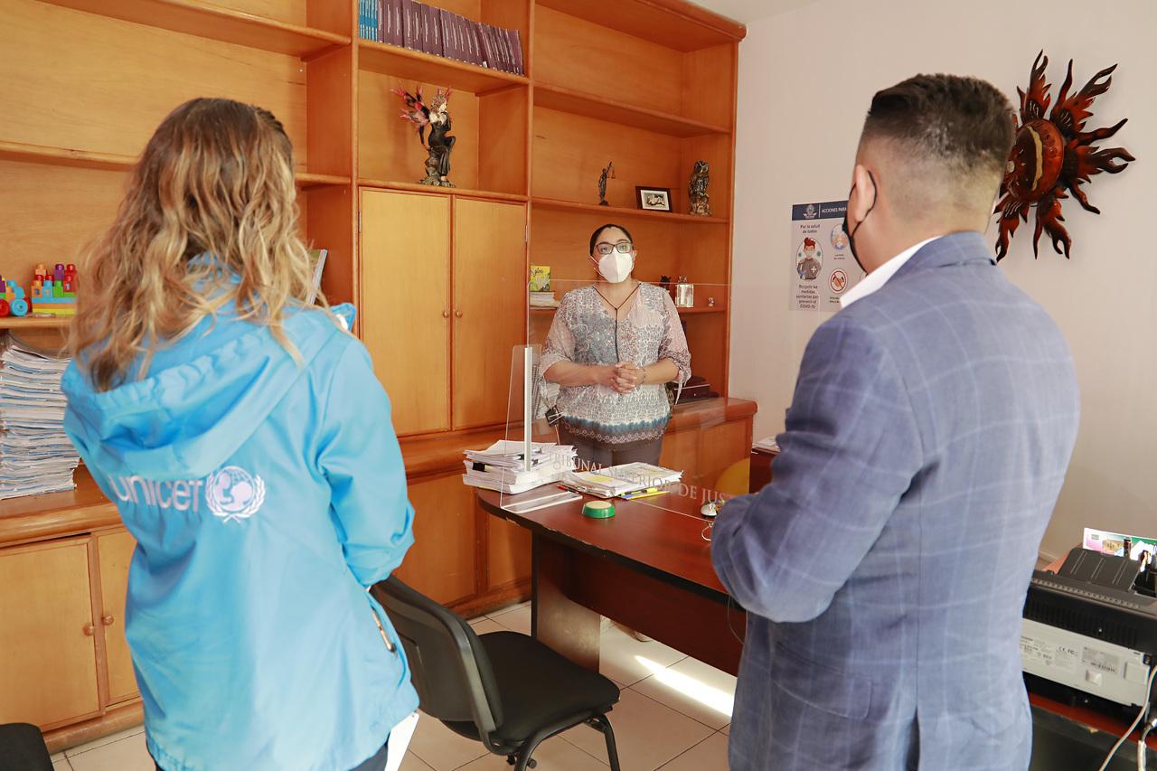Refuerza DIF Estatal protección a menores y adolescentes migrantes