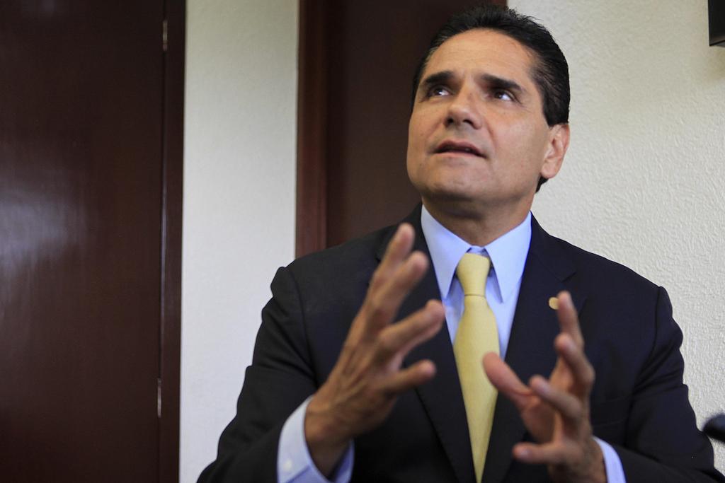 Aureoles denuncia una 'narcoelección' en Michoacán