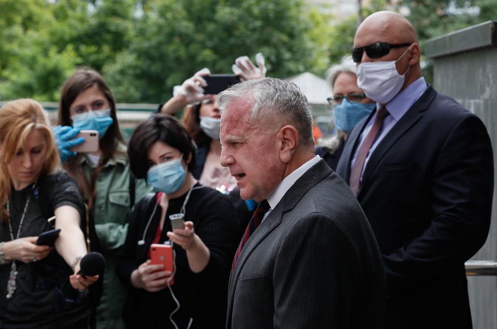 Embajador de EUA regresa a Rusia