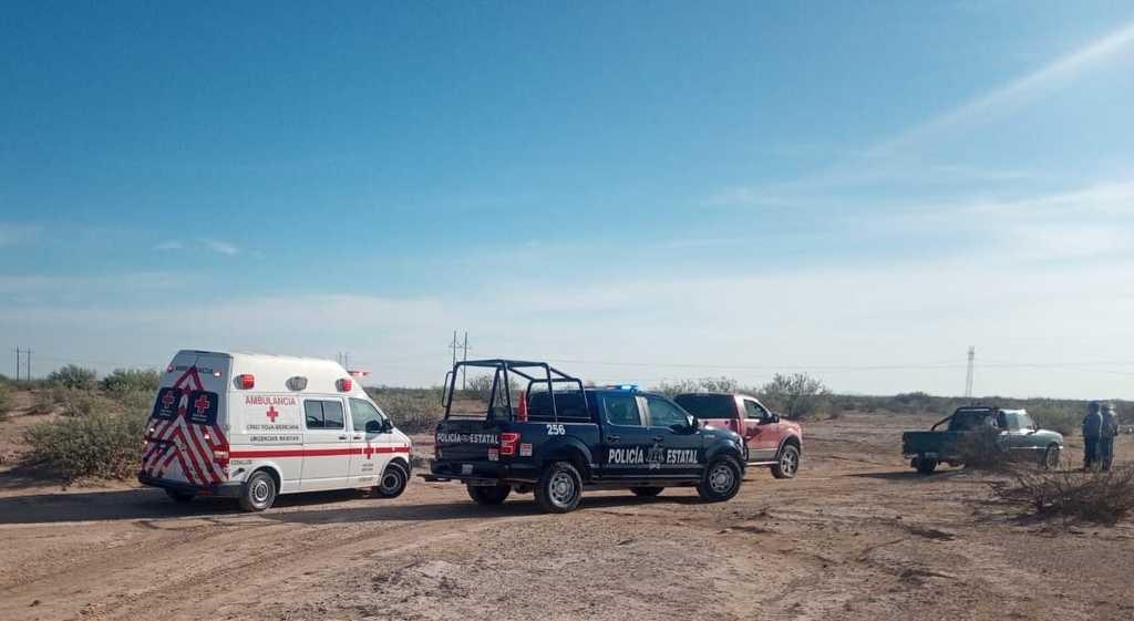Encuentran a jornalero muerto en carretera federal Gómez Palacio-Jiménez