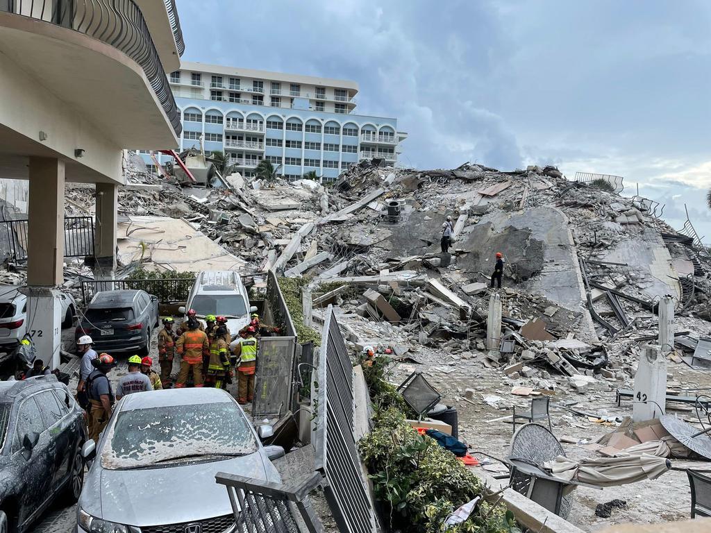 Miami-Dade, entre la esperanza y la desesperación tras el derrumbe de edificio