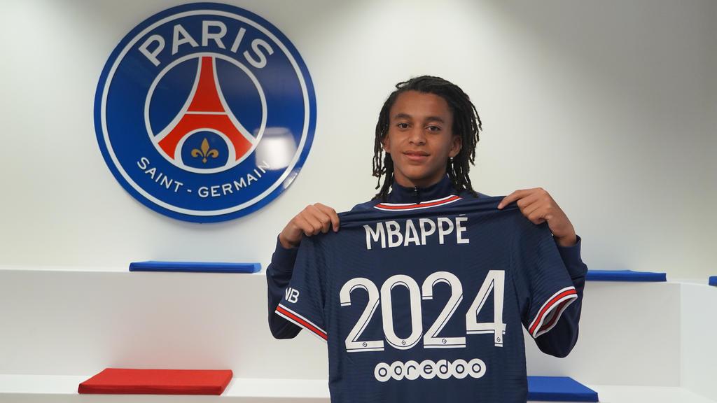 PSG renueva el contrato del hermano menor de Mbappé