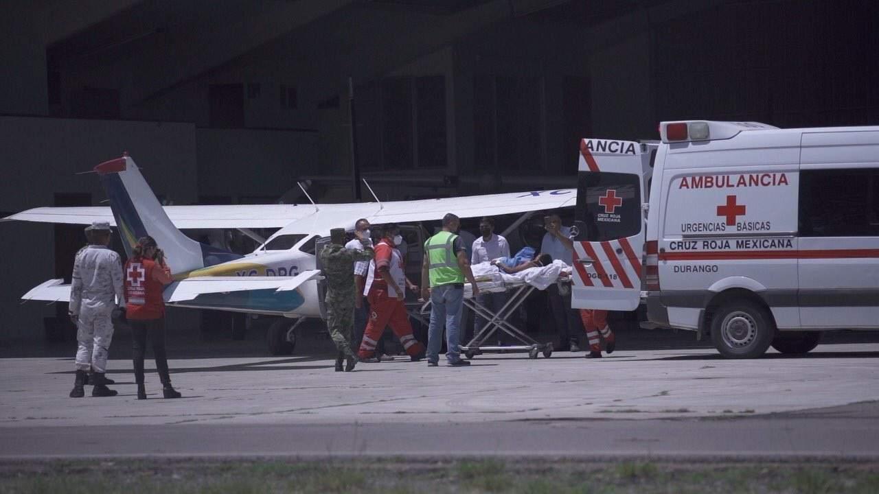 Menor es atacado por jabalí en Mezquital; lo trasladan en avioneta