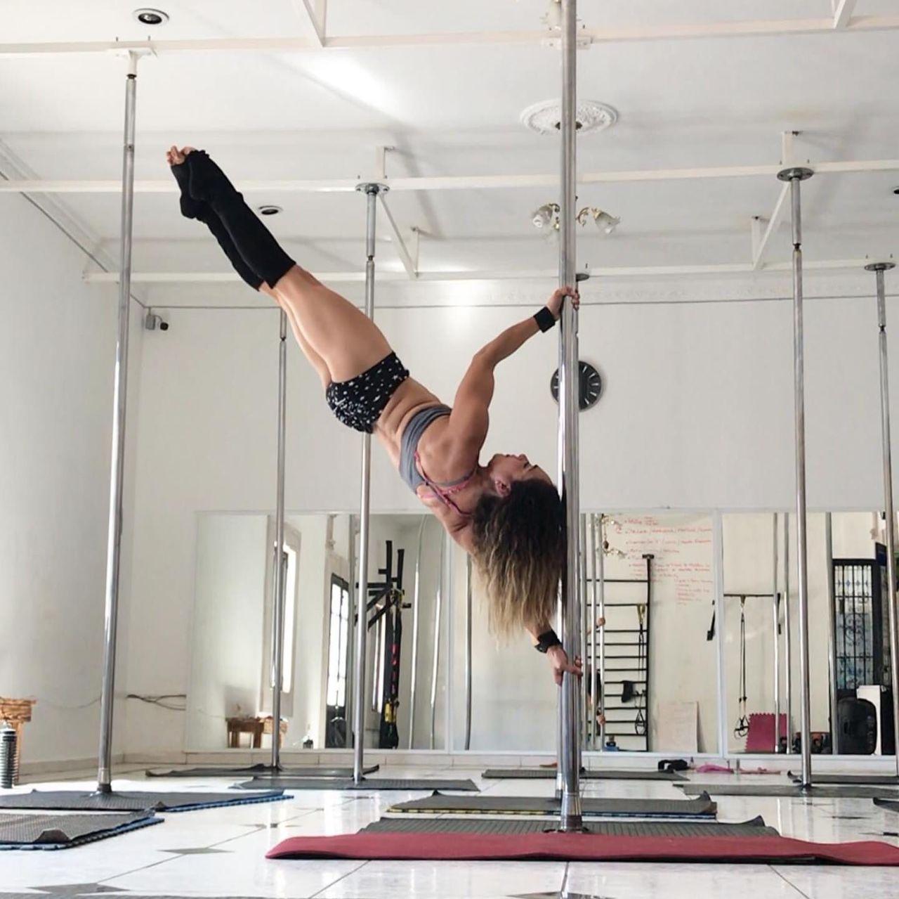 Pole Fitness en el Auditorio del Pueblo