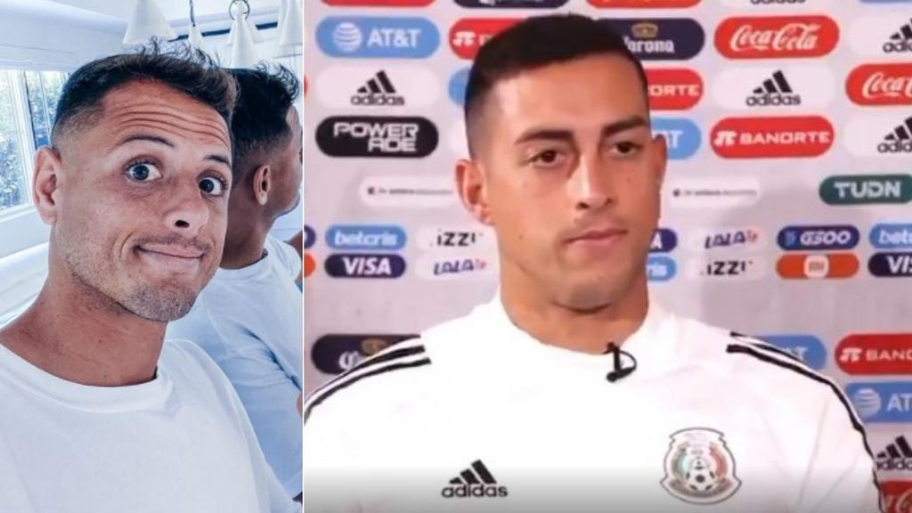 Rogelio Funes Mori revela mensaje que le envió 'Chicharito' Hernández por redes sociales