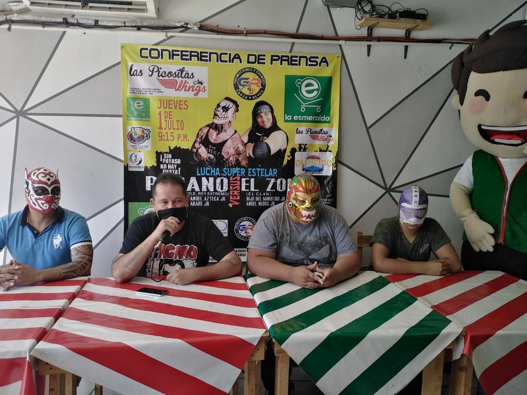 Arena Olímpico Laguna recibirá el mes de julio con gran función de Lucha Libre