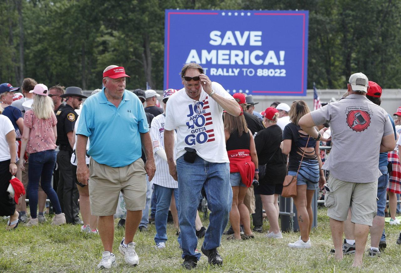 Donald Trump regresa a la escena política estadounidense con mitin en Ohio