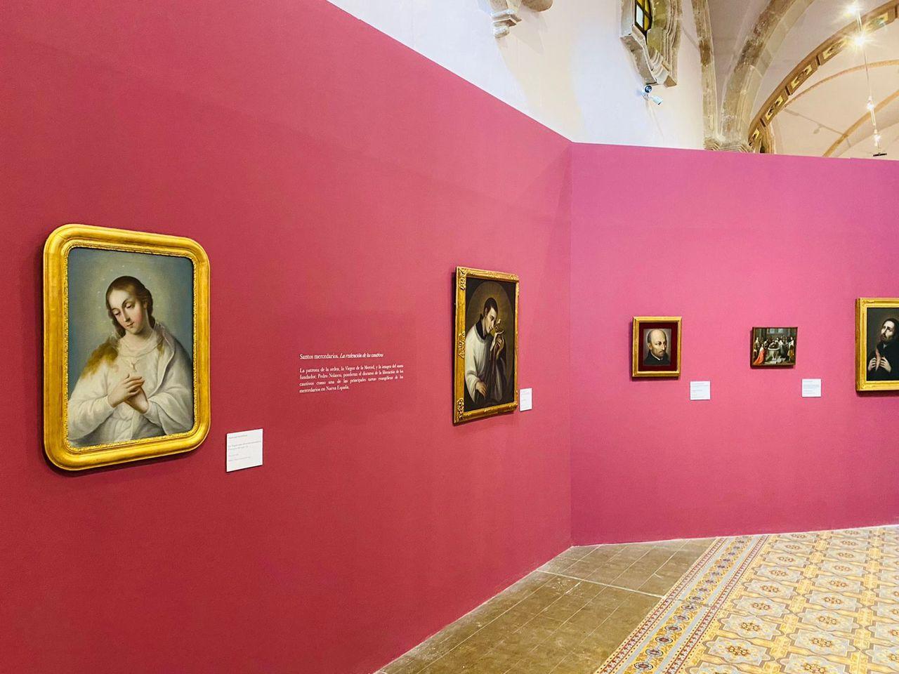 Llegan obras del Munal al Museo del Virreinato