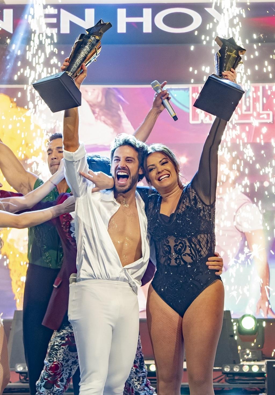 Mariana Echeverría y Lambda García son los reyes del baile
