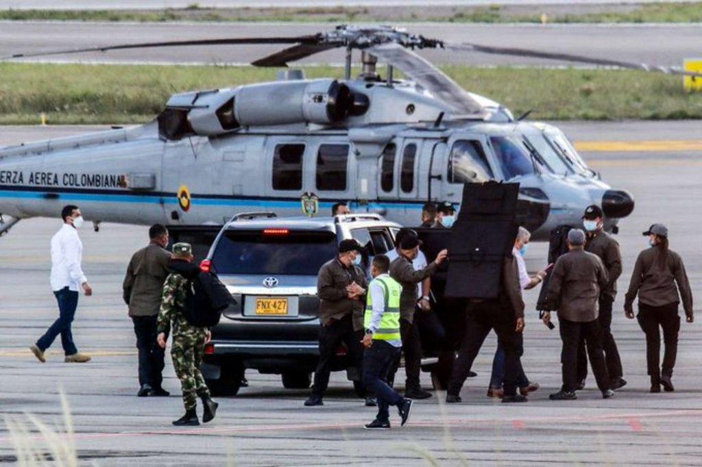 Colombia investiga atentado contra Duque