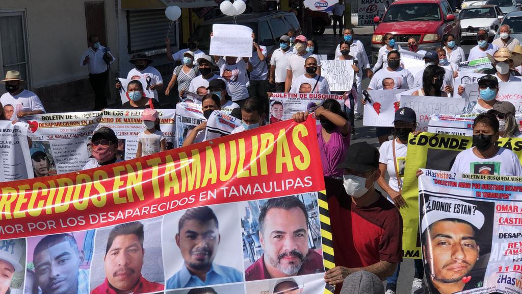 Marchan en Reynosa para exigir alto a la violencia