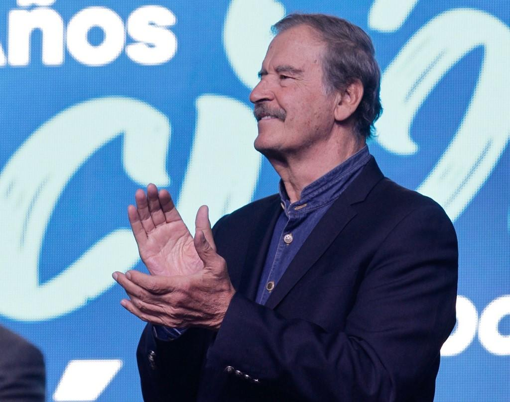 Vicente Fox llama a no participar en consulta popular contra expresidentes