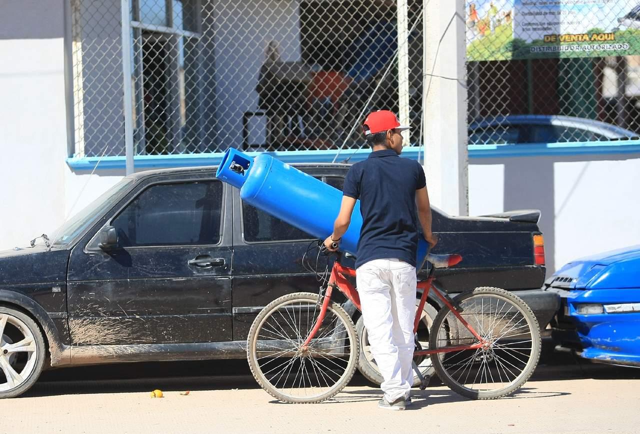 Precio del gas en Durango, arriba de los 800 pesos