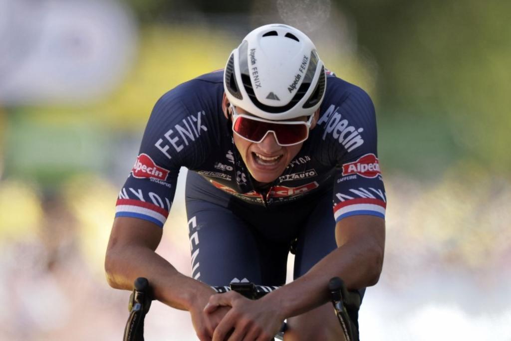 Van der Poel es nuevo líder del Tour de Francia con la Etapa 2