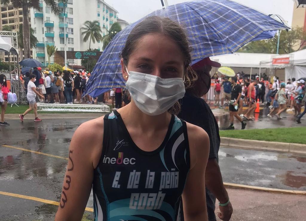 Lagunera gana oro en triatlón de Juegos Nacionales Conade 2021